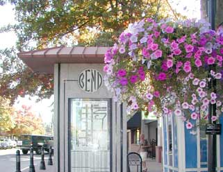 Bend Real Estate | Bend downtown flowers